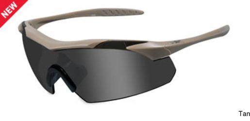 Wiley X Vapor Tan Frame w Grey/Clear Lenses