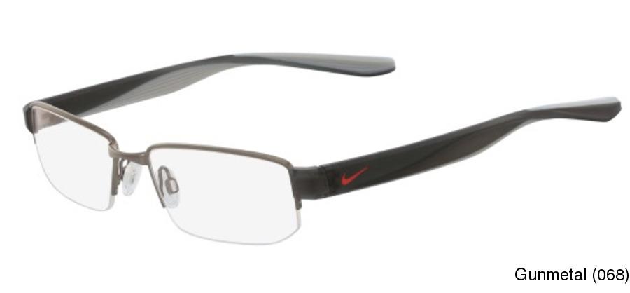 40c113bda68 Buy Nike 8170 Semi Rimless   Half Frame Prescription Eyeglasses