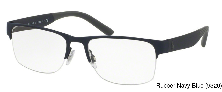a94f0ce429b Buy (Polo) Ralph Lauren PH1168 Semi Rimless   Half Frame ...