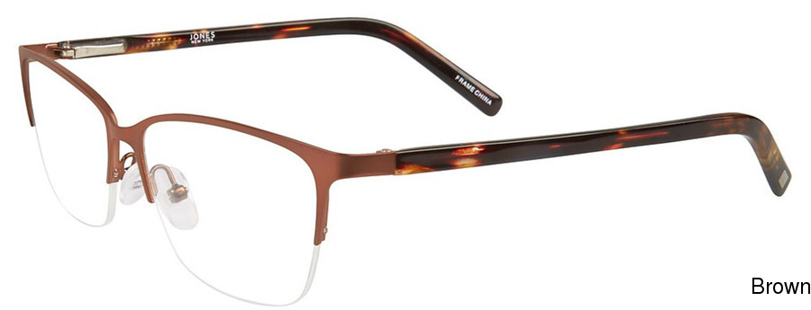 77700cb3543e Buy Jones New York J484 Semi Rimless   Half Frame Prescription ...