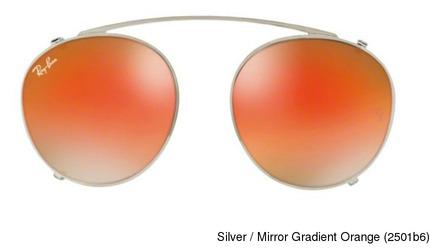14077a8063 Buy Ray Ban RX2180C Clip-On Mirror Full Frame Prescription Eyeglasses