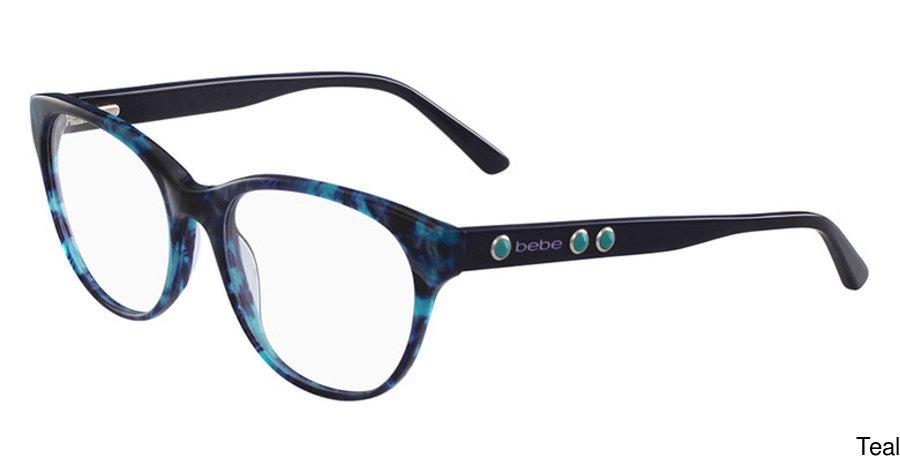 e39b08e1fa Buy bebe BB5138 - Vicarious Full Frame Prescription Eyeglasses