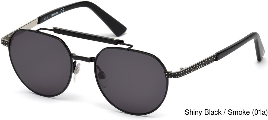 1175ece043 Buy Diesel DL0239 Full Frame Prescription Sunglasses