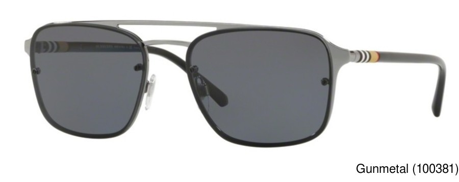 1565b78fd518 Buy Burberry BE3095 Polarized Full Frame Prescription Sunglasses